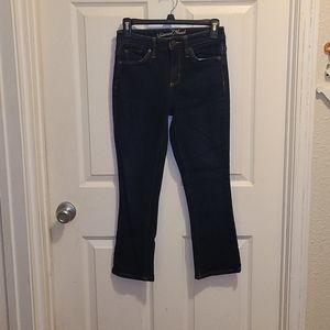 Universal Thread High Rise Kick Boot Crop Jeans